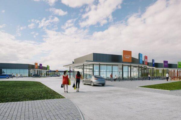 Imagini cu noul Mall ce se va construi in judetul Cluj!