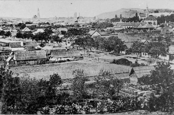 Vezi cum aratau acum aprox. 100 de ani cartierele si strazile de astazi ale clujului