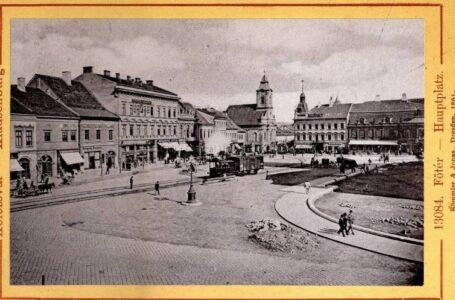 Imagini cu trenul care a circulat prin centrul Clujului!